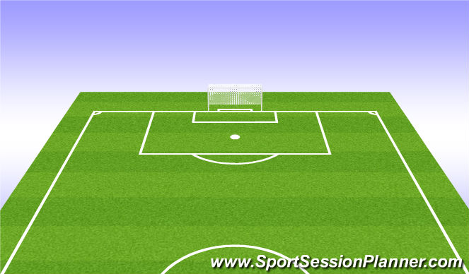 Football/Soccer Session Plan Drill (Colour): Fitness: 1v1 battles