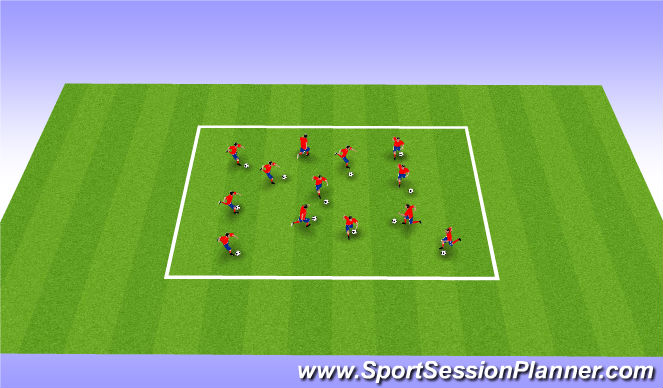 Football/Soccer Session Plan Drill (Colour): Home Work Review