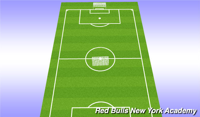 Football/Soccer Session Plan Drill (Colour): 5v5 scrimmage