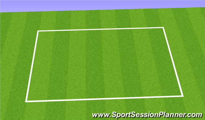 Football/Soccer Session Plan Drill (Colour): Soccer Hop
