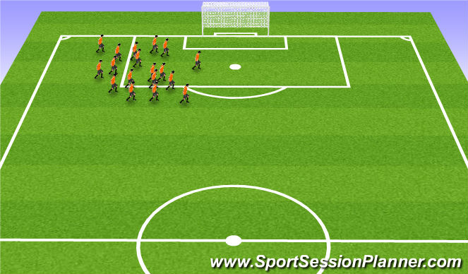 Football/Soccer Session Plan Drill (Colour): Niðurlag