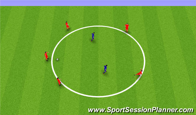 Football/Soccer Session Plan Drill (Colour): Pine Glen ODP Week 8