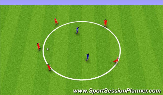 Football/Soccer Session Plan Drill (Colour): Pine Glen ODP Week 8 U6-U8'S