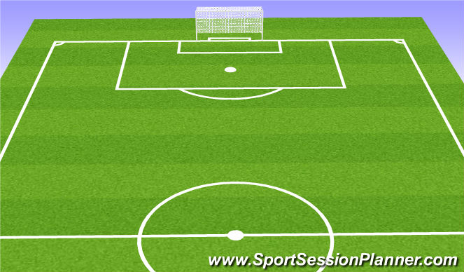 Football/Soccer Session Plan Drill (Colour): IIB. Rondo with Transition