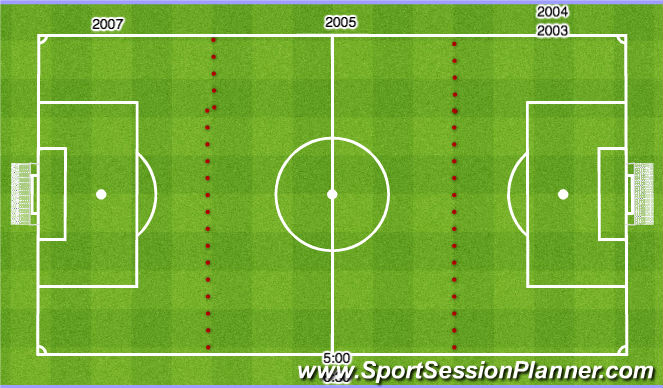 Football/Soccer Session Plan Drill (Colour): TFA Westside Tryouts 01,02,06,08,09