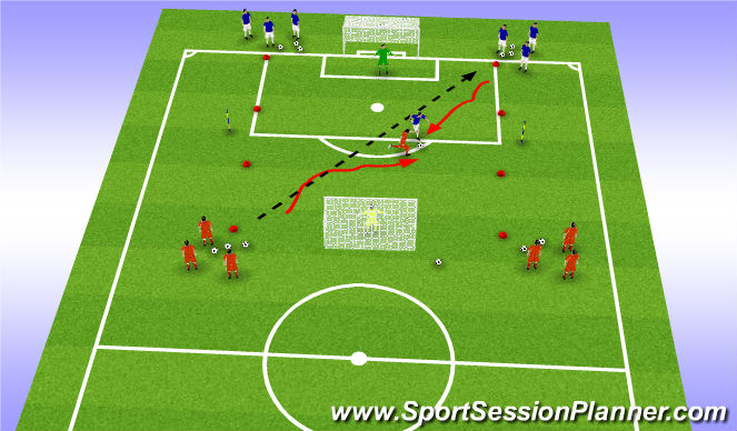 Football/Soccer Session Plan Drill (Colour): component1