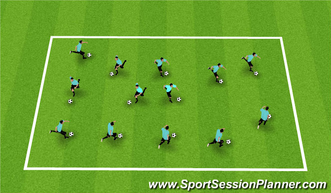 Football/Soccer Session Plan Drill (Colour): Homework Review