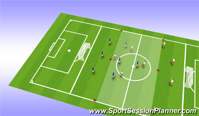 Football/Soccer Session Plan Drill (Colour): SSG (2)