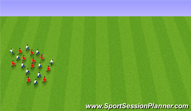 Football/Soccer Session Plan Drill (Colour): Niðurlag: