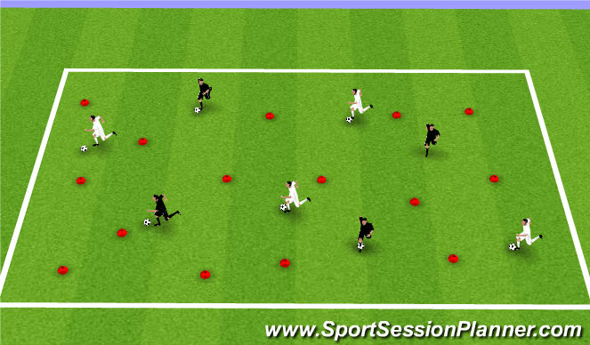 Football/Soccer Session Plan Drill (Colour): Additional Game if Needed