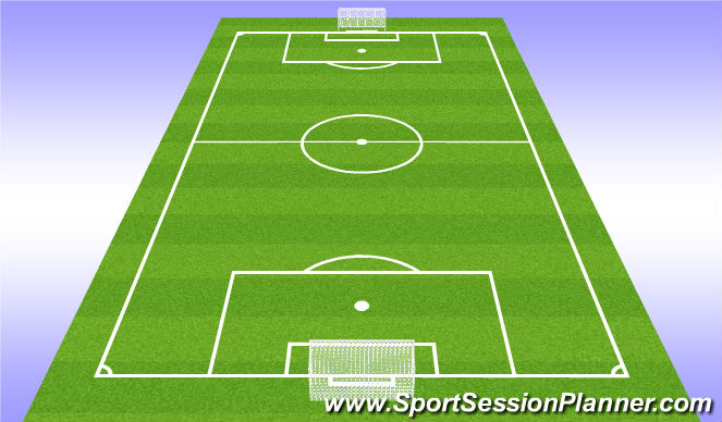 Football/Soccer Session Plan Drill (Colour): Refelection