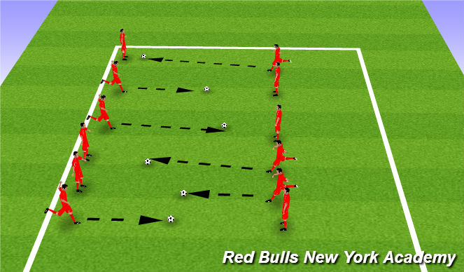 Football/Soccer Session Plan Drill (Colour): window game