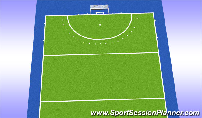 Hockey Session Plan Drill (Colour): Afronden*
