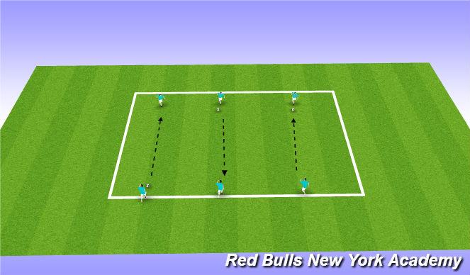 Football/Soccer Session Plan Drill (Colour): PART 1: Technique