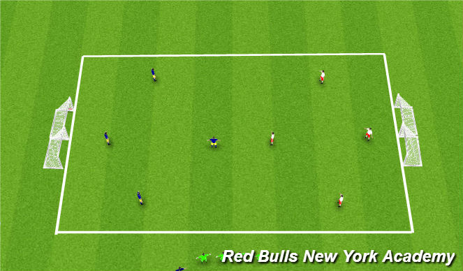 Football/Soccer Session Plan Drill (Colour): Street Soccer Tournament