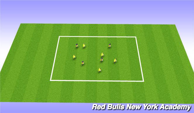 Football/Soccer Session Plan Drill (Colour): Spongebob sqaure pants