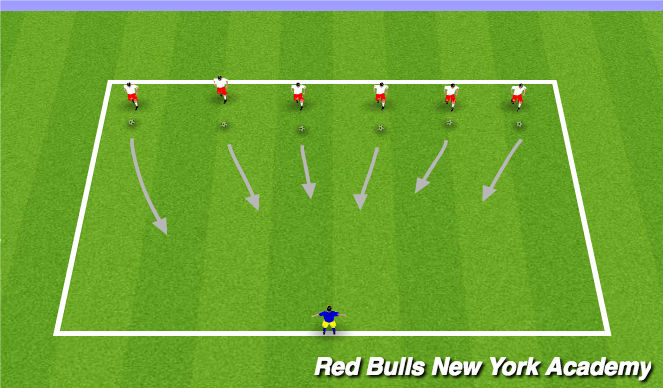 Football/Soccer Session Plan Drill (Colour): Teenage Mutant Ninja Turtles (Incredibles Setup)