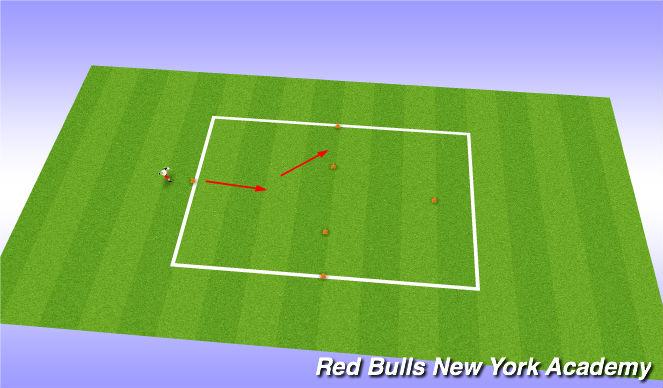 Football/Soccer Session Plan Drill (Colour): Motor Skills