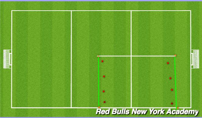 Football/Soccer Session Plan Drill (Colour): Main Theme II.