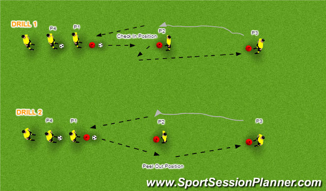 Football/Soccer Session Plan Drill (Colour): Exercise 6
