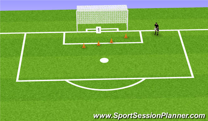 Football/Soccer Session Plan Drill (Colour): Oefeniing 5