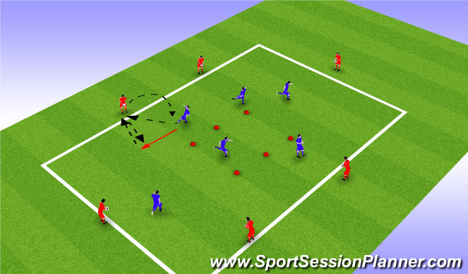 Football/Soccer Session Plan Drill (Colour): Windows prog