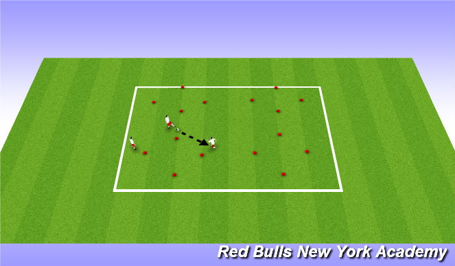 Football/Soccer Session Plan Drill (Colour): TWU