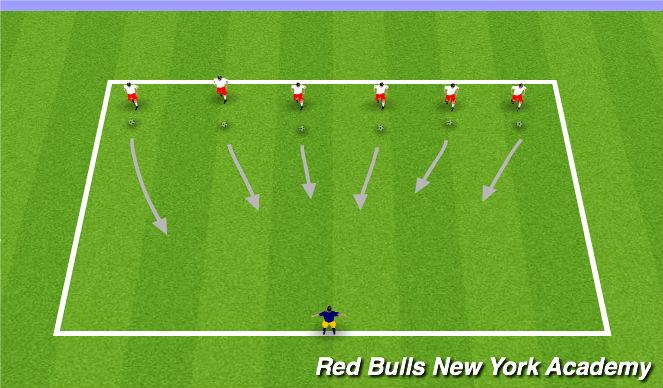 Football/Soccer Session Plan Drill (Colour): Teenage Mutant Ninja Turtles