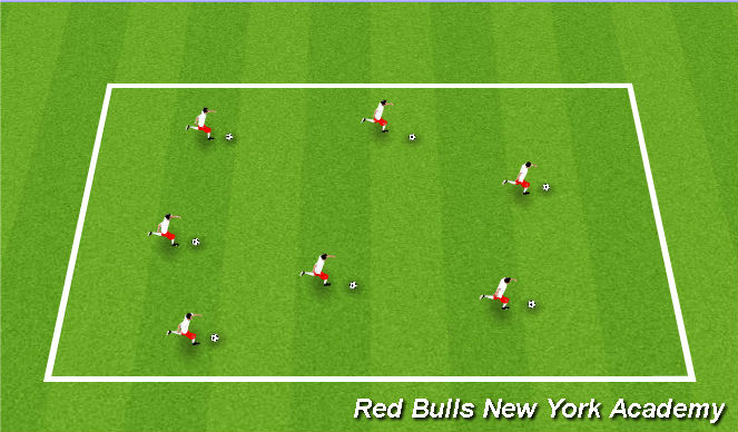 Football/Soccer Session Plan Drill (Colour): Activity2