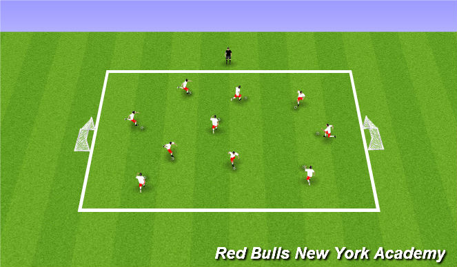 Football/Soccer Session Plan Drill (Colour): Drivers Ed.