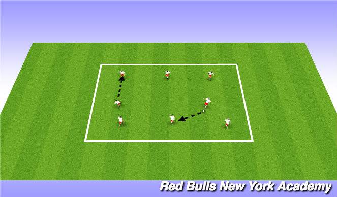 Football/Soccer Session Plan Drill (Colour): Zombies Game