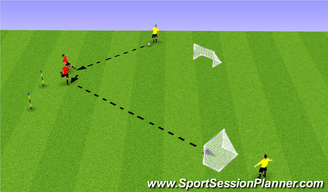 Football/Soccer Session Plan Drill (Colour): Pantalla 3