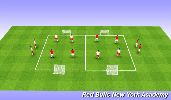Football/Soccer Session Plan Drill (Colour): Gmae