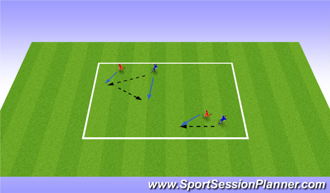 Football/Soccer Session Plan Drill (Colour): Yo-Yo