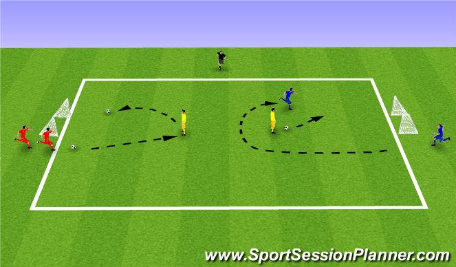 Football/Soccer Session Plan Drill (Colour): Week 10: Yo-Yo!