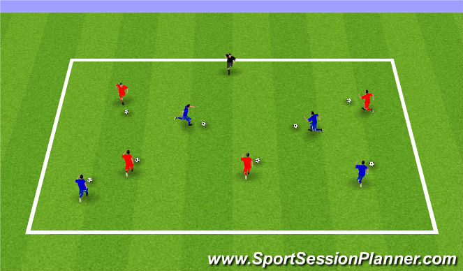 Football/Soccer Session Plan Drill (Colour): Week 11: Lights