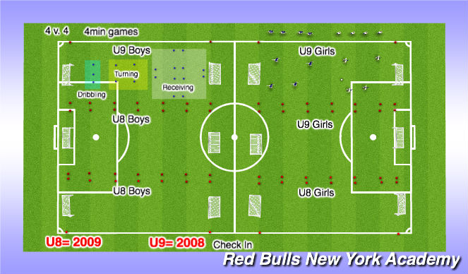 Football/Soccer Session Plan Drill (Colour): Forest 3:30-5:30 p.m.