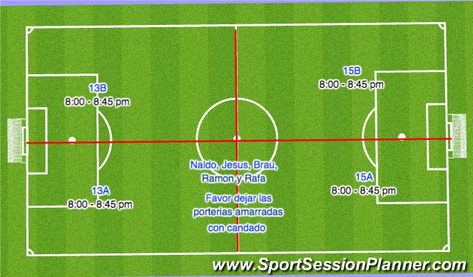 Football/Soccer Session Plan Drill (Colour): Segunda PArte
