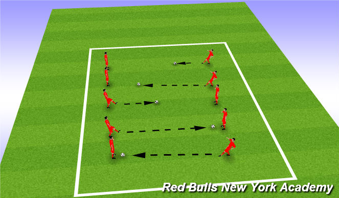 Football/Soccer Session Plan Drill (Colour): window Passing