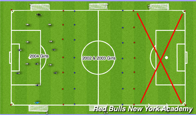 Football/Soccer Session Plan Drill (Colour): Forest 3:30-5:30p