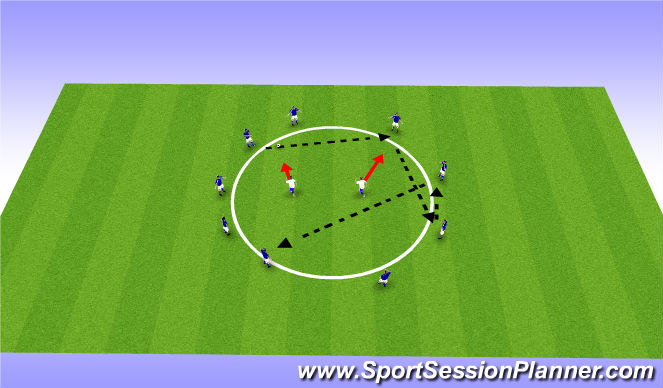 Football/Soccer Session Plan Drill (Colour): Pine Glen ODP 6:00/7:00- 7:00/8:00