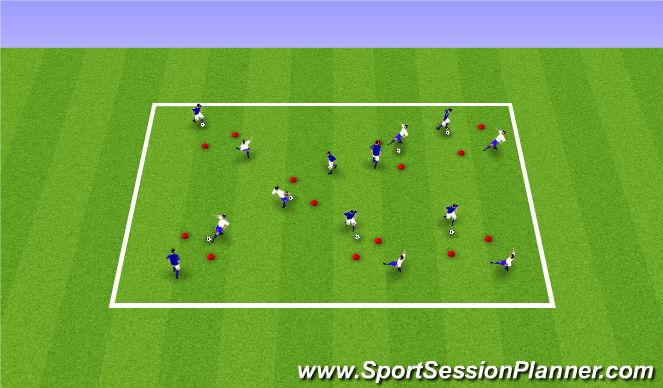 Football/Soccer Session Plan Drill (Colour): Pine Glen ODP 6:00/7:00- 7:00/8:00