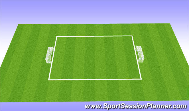 Football/Soccer Session Plan Drill (Colour): Possession - Game