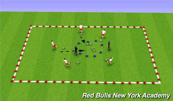 Football/Soccer Session Plan Drill (Colour): Planet Protectors