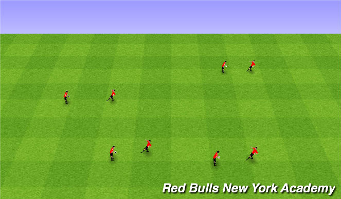 Football/Soccer Session Plan Drill (Colour): Counting Juggles