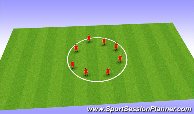 Football/Soccer Session Plan Drill (Colour): col down