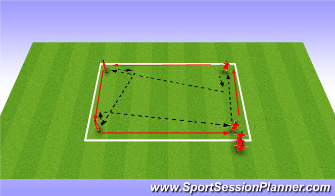 Football/Soccer Session Plan Drill (Colour): colol down