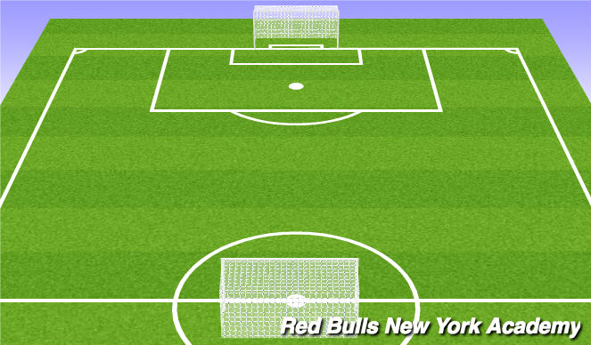 Football/Soccer Session Plan Drill (Colour): Full game
