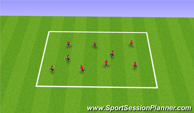Football/Soccer Session Plan Drill (Colour): 12 & 28