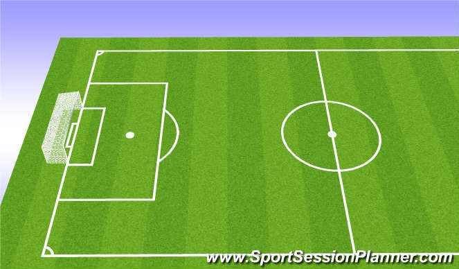 Football/Soccer Session Plan Drill (Colour): Skills n thrills